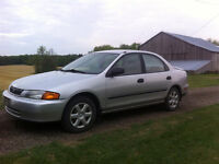 1998 Mazda Protege with only 72000 km for trade obo..