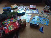 9 children's toy jigsaws puzzles