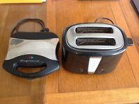 Toaster and toastie maker