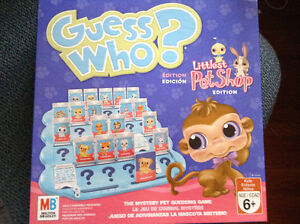 Littlest pet shop guess who game for sale