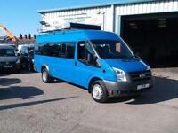 2007 07 FORD TRANSIT 17 SEAT SEATER MINIBUS WITH ULTRA LOW 28000 MILES 1 OWNER