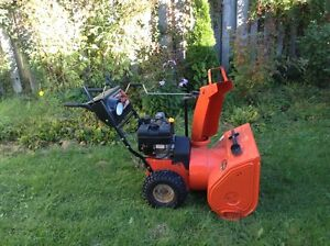 Low price for almost new snowblower