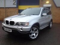 BMW X5 3.0d auto Sport 4X4 , 53 REG, 1 YEARS MOT, FSH, MEGA SPEC , MINT!!!!