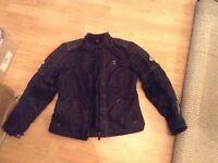 Hein Gericke motorcycle bike jacket women's size 14 euro 42