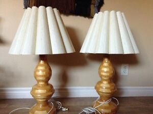Home made table lamps for sale