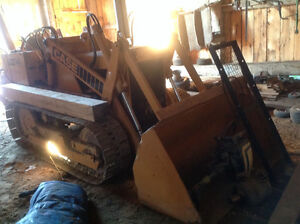 Case 450 Crawler Loader w/Backhoe & Counter-weight London Ontario image 2