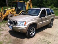2001 Jeep Grand Cherokee limited- California Truck No Rust !!!