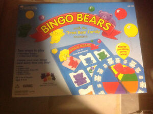 New, BINGO BEARS, Learning Resources game