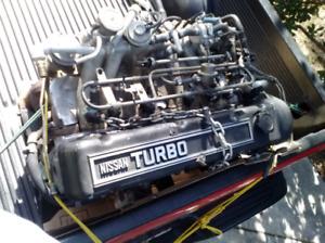 L28ET Engine / 280zx turbo parts car