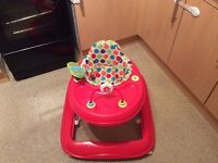 Baby walker and bouncer excellent condition for both £20