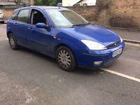 2002 Ford Focus 1.6 ghia automatic 9 months mot £795