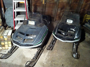 For sale-2 Arctic Cat Jag Snowmobiles