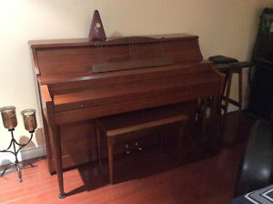 1966 Gerhard Heintzman upright piano