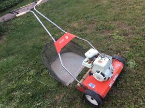 Vintage Reel Lawnmower