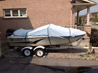 135 hp '97 Mercury on 18 ft Larson Boat &Tandem Trailer: $6000