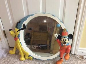 Retro Disney mirror