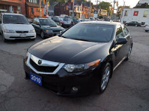 2010 Acura TSX Black on Black Certification and E-test included