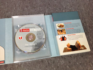 5 Factor Fitness DVD set with Diet Journal Cambridge Kitchener Area image 2