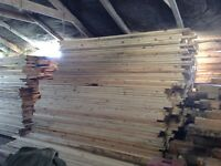 Reclaimed timber 4x4 posts dry barn stored , lots in stock