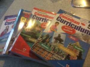 Canadian curriculum books