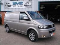 VW TRANSPORTER SWB 140BHP 6 SPEED AIR CON AND LUX PACK IDEAL CAMPER / DAY VAN