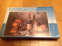 NEW Jigsaw Puzzle Still Life Food 1000 pieces.
