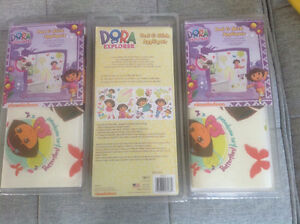 Brand New in Package Dora Peel & Stick Wall Appliqués,Pack of 28