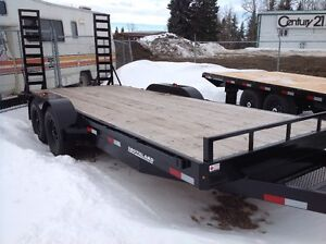 New 18' deck trailers