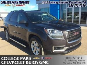 2015 GMC Acadia SLE1  8 PASS, PARK ASSIST, Trailer pkg