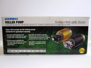 Hydro 4101N-E2H roller pump with motor NEW in the box