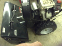 Craftsman Snowblower - approx 6 years old - great conditon