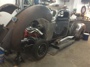1940 chev rat rod project