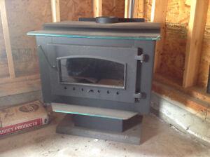 New airtight wood stove