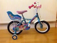 "14"" Halford's Apollo Pom Pom girls bike"