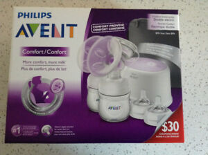 Brand New Sealed in Box Philips Avent Double ElectricBreast Pump