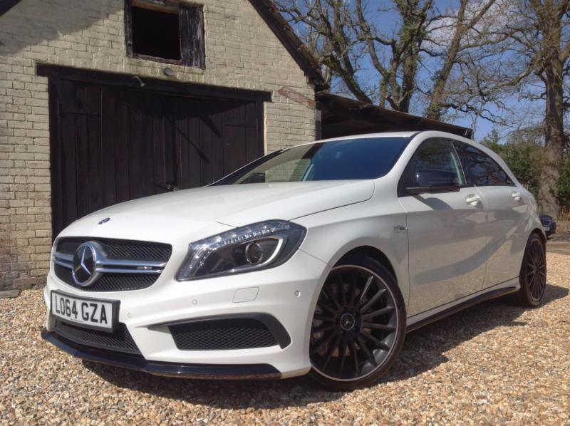 2015 Mercedes-Benz A45 2.0 ( 360bhp ) 4MATIC 7G-DCT FMBSH WARRANTY TO 2018