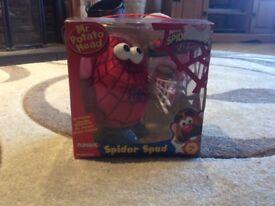 Mr potato head Spiderman.