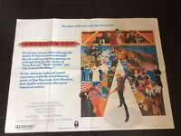 Vintage Movie Poster, Large