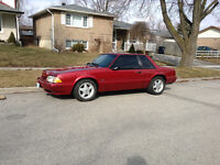 MINT 1992 Mustang Coupe 5.0