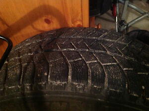 Audi Q7 winter tire and rims package with TPS Peterborough Peterborough Area image 3