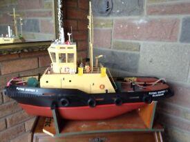 Model Tug Boat