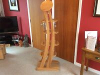 Unusual Wooden Display Stand