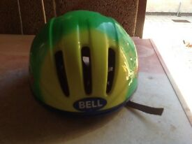 Child's bell bicycle helmet used