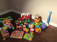 20 various toys for 12-24 months