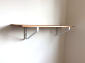 Solid pine Ikea wall shelf