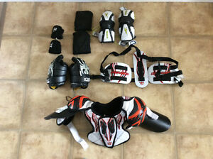 Boys box lacrosse gear