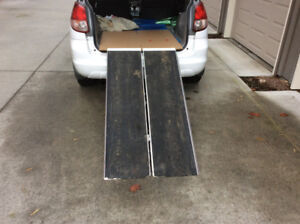 Wheelchair/Scooter portable ramp