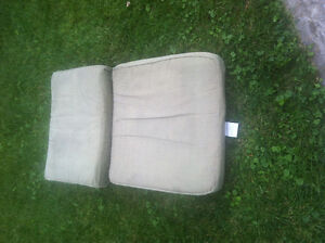 4 sets of patio cushions