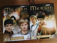 Merlin volume 1 and 2 on dvd