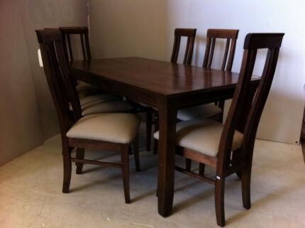 Contemporary dining set 7 piece#3656